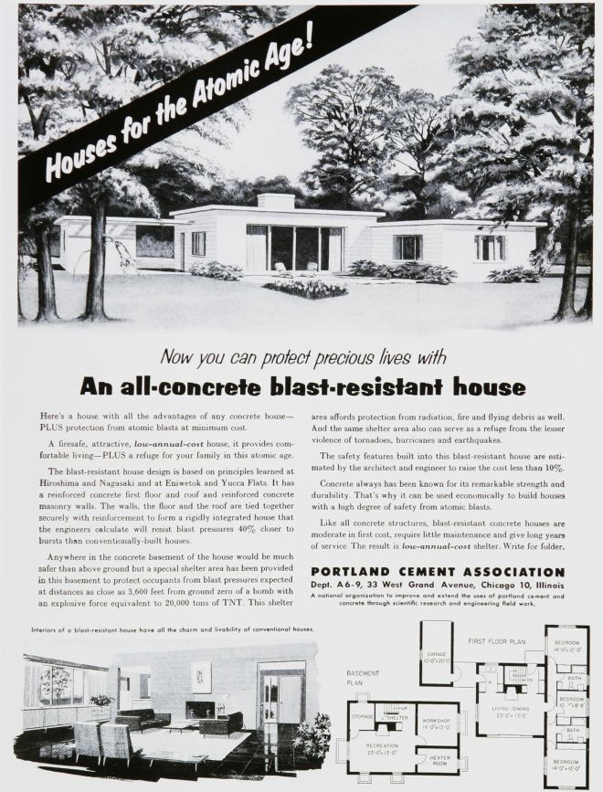 Image result for all-concrete blast resistant house