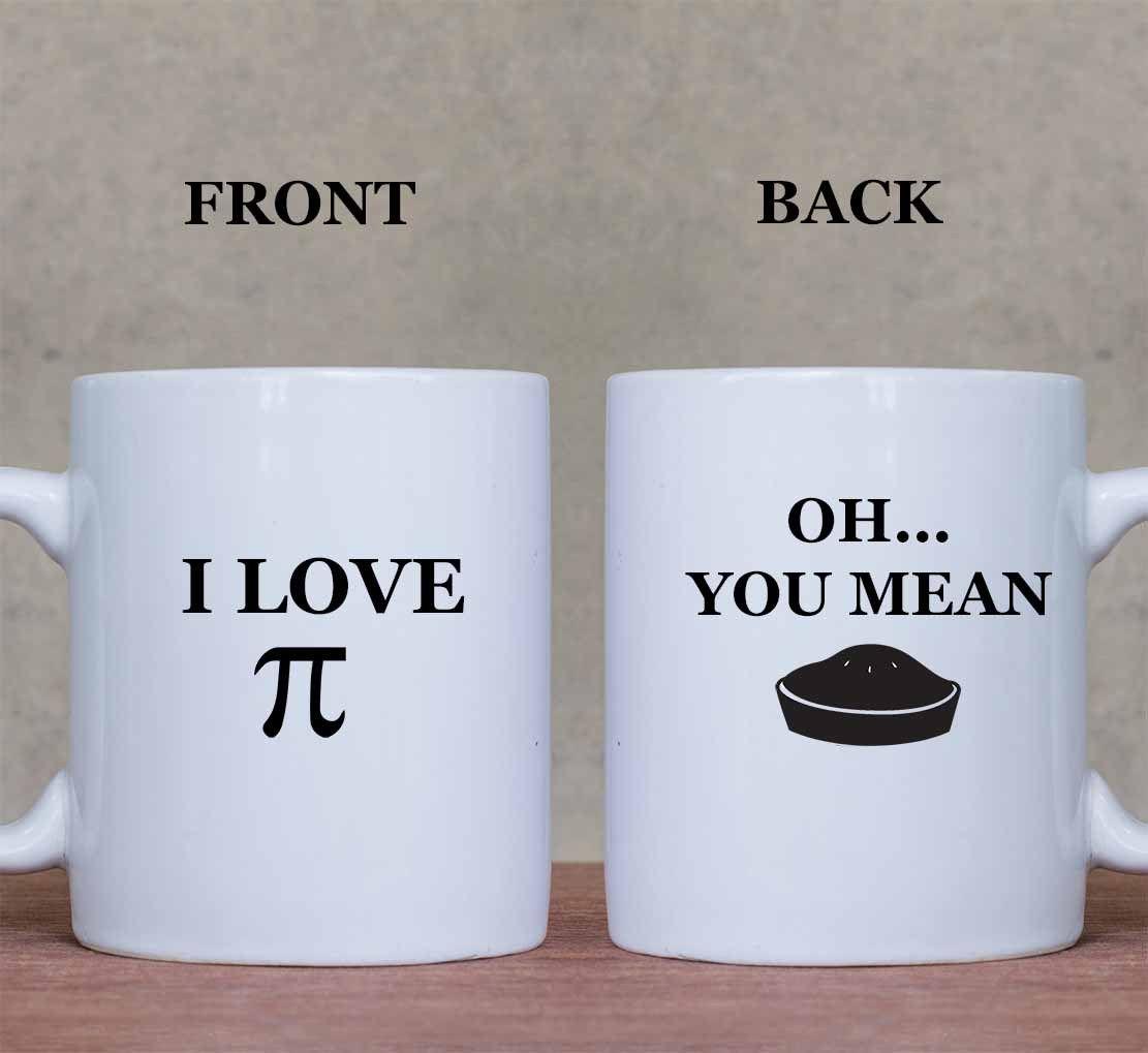 I Love #Pie #Coffee #Mugs Set Cup Sizes 11 oz &15 oz. http://ow.ly/XHibF