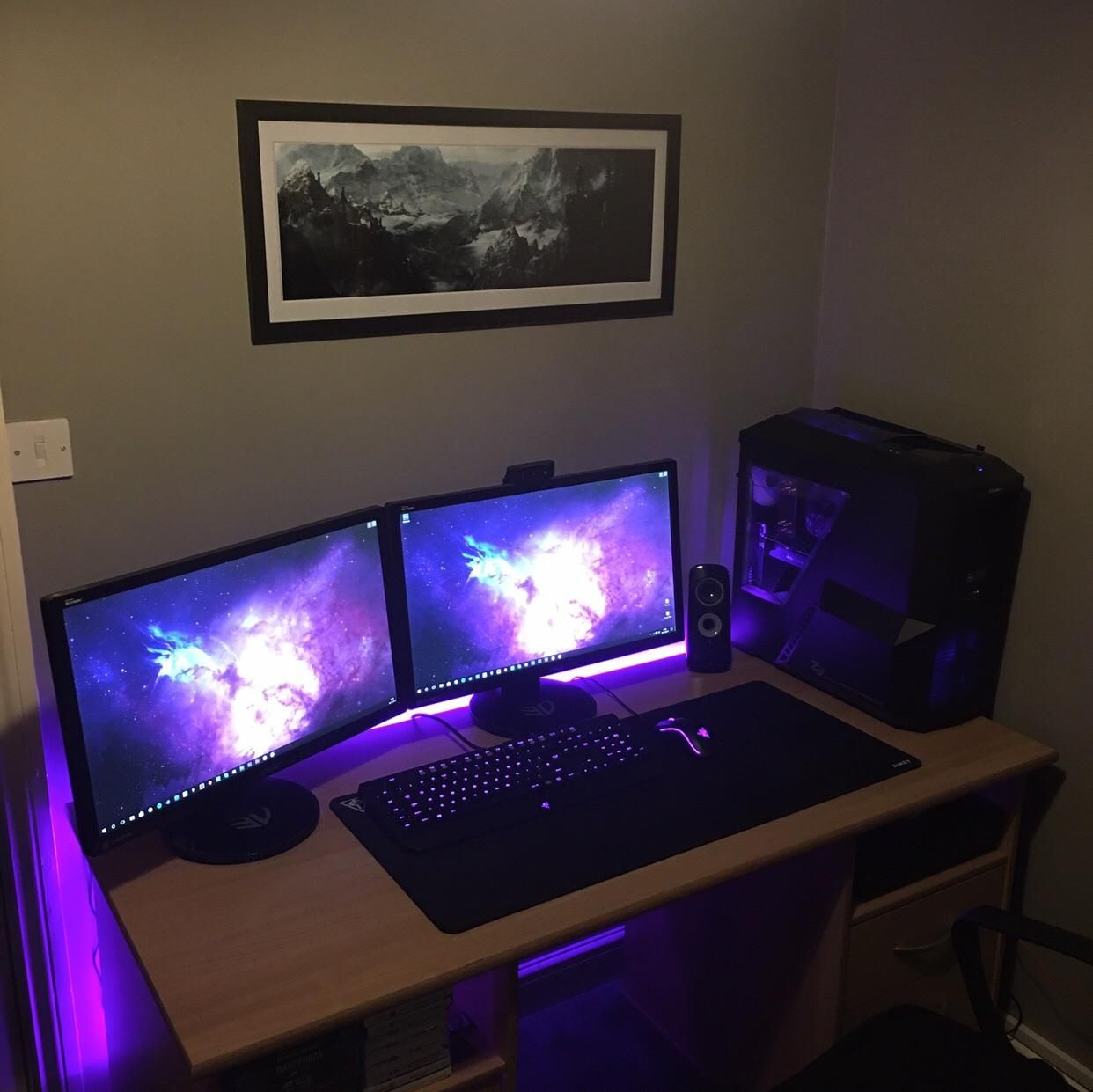 My first battlestation! Id love to hear suggestions on