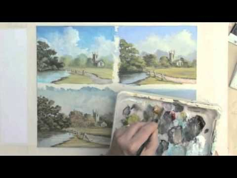 Bobdavies88 On Youtube Acrylic Painting Instruction Videos Art