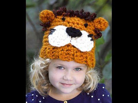 How To Crochet Lion Hat Video 1 Lion Brand Yarn Pattern Https