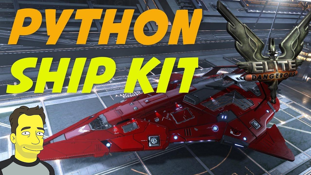 Elite Dangerous The Python Ship Kit Spoilers Bumpers And Wings