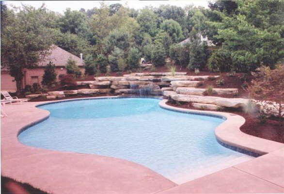 Pools And Waterfalls By Mike Hodak Dream Pools Waterfalls Backyard Backyard