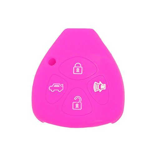SEGADEN Silicone Cover Protector Case Skin Jacket fit for HYUNDAI KIA 3 Button Flip Remote Key Fob CV2152 Yellow