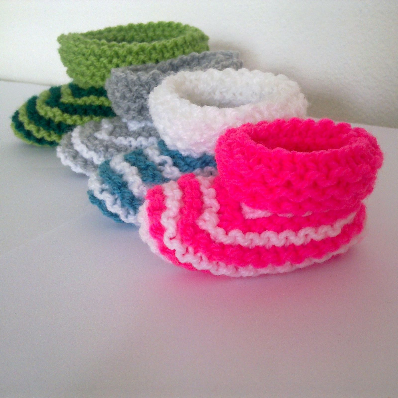 Ravelry: Easiest & fastest baby booties ever! by A la Sascha ...