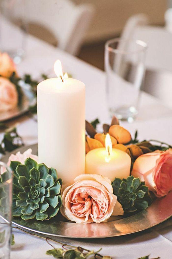 Tischdekoration hochzeit 88 einzigartige ideen f r ihr fest i love you with both my hearts - Spanische tischdekoration ...