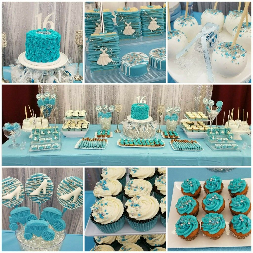 Cinderella Themed Sweets Table Cinderella Themed Dessert Table Chocolate Covered Marshmallows Themed Desserts Sweet
