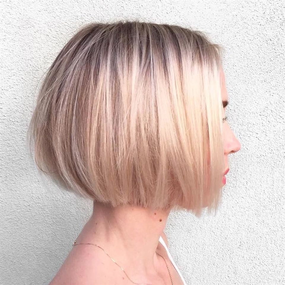 Top 10 Best Short Bob Hairstyles For Summer Short Haircuts 2018 2019 Bob Hairstyles Hair Styles Haircuts For Fine Hair