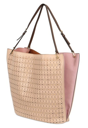 dc5b0e30c06 Tod s Large Perforated Leather Bucket Bag  Spring Fling 2345