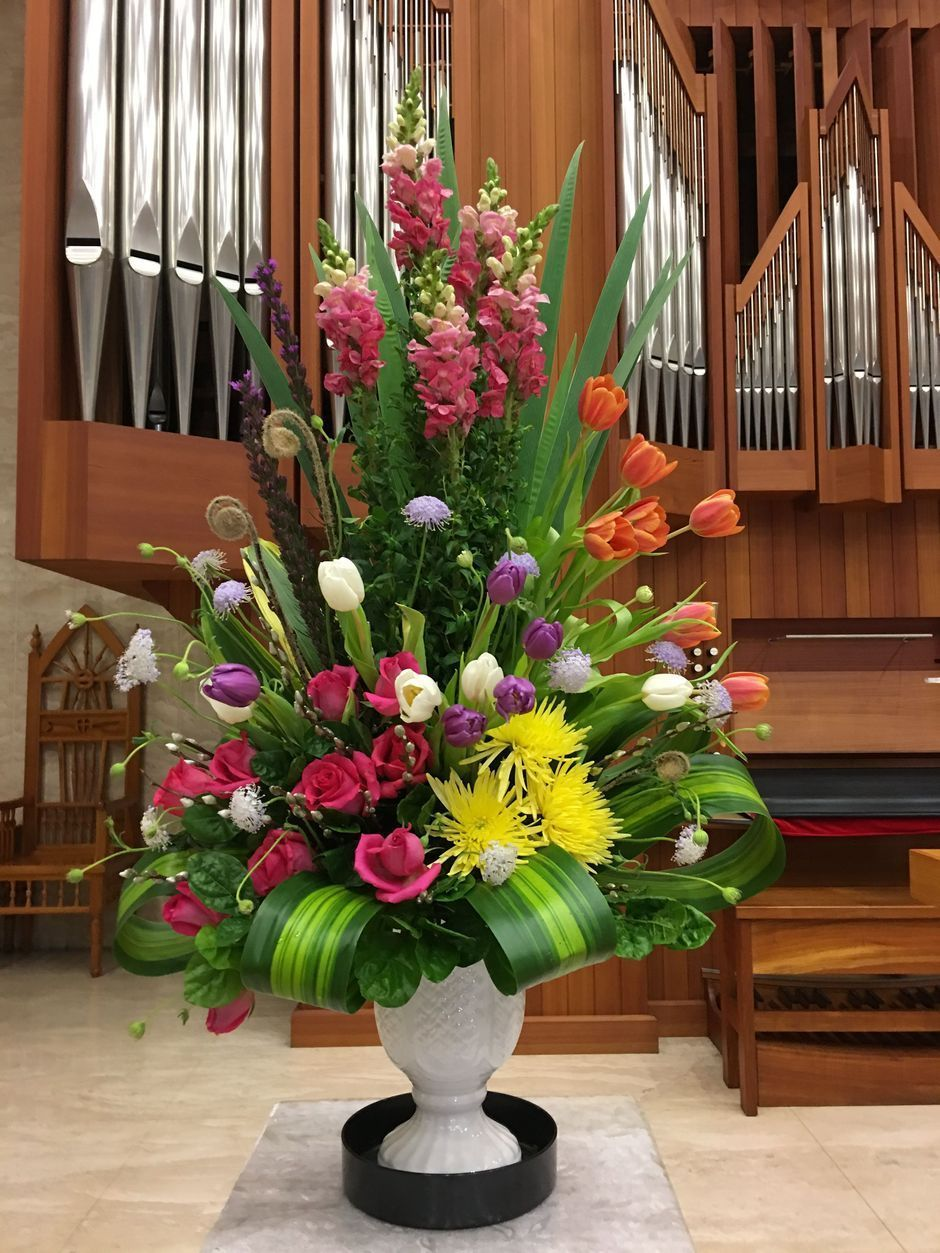 tropical flower arrangement ideas