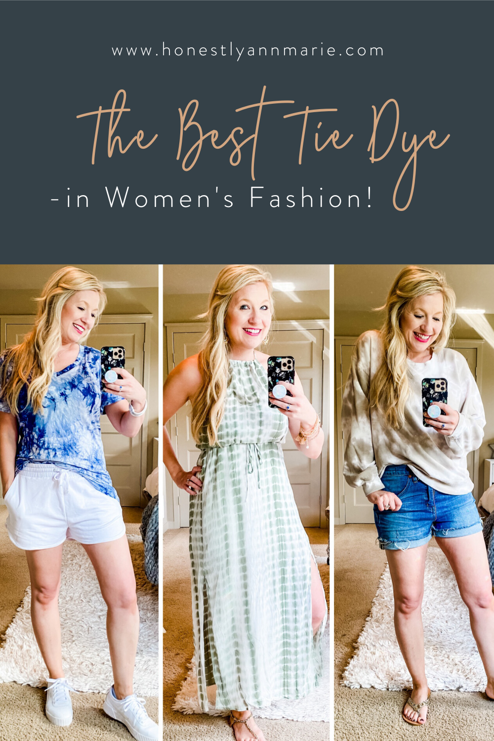 The tie dye fever is going strong, my friends! Today, I've put together a post which includes my favorite finds for tie dye so far! Hope you love them! tie dye, tie dye ideas, tie dye sweatshirt, tie dye styling