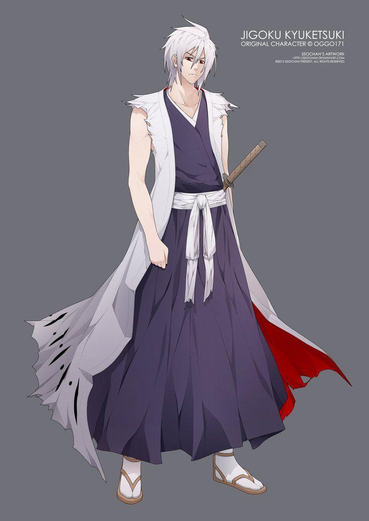 Jigoku Kyuketsuki Grandmaster Of Hakuda By Oggo171 Deviantart Com On Deviantart Bleach Characters Bleach Anime Anime People