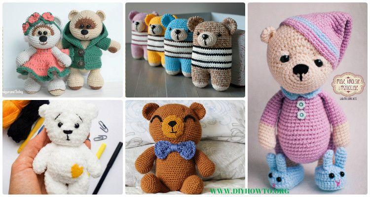 Amigurumi Crochet Patterns Teddy Bears : Amigurumi crochet teddy bear toys free patterns teddy bear toys