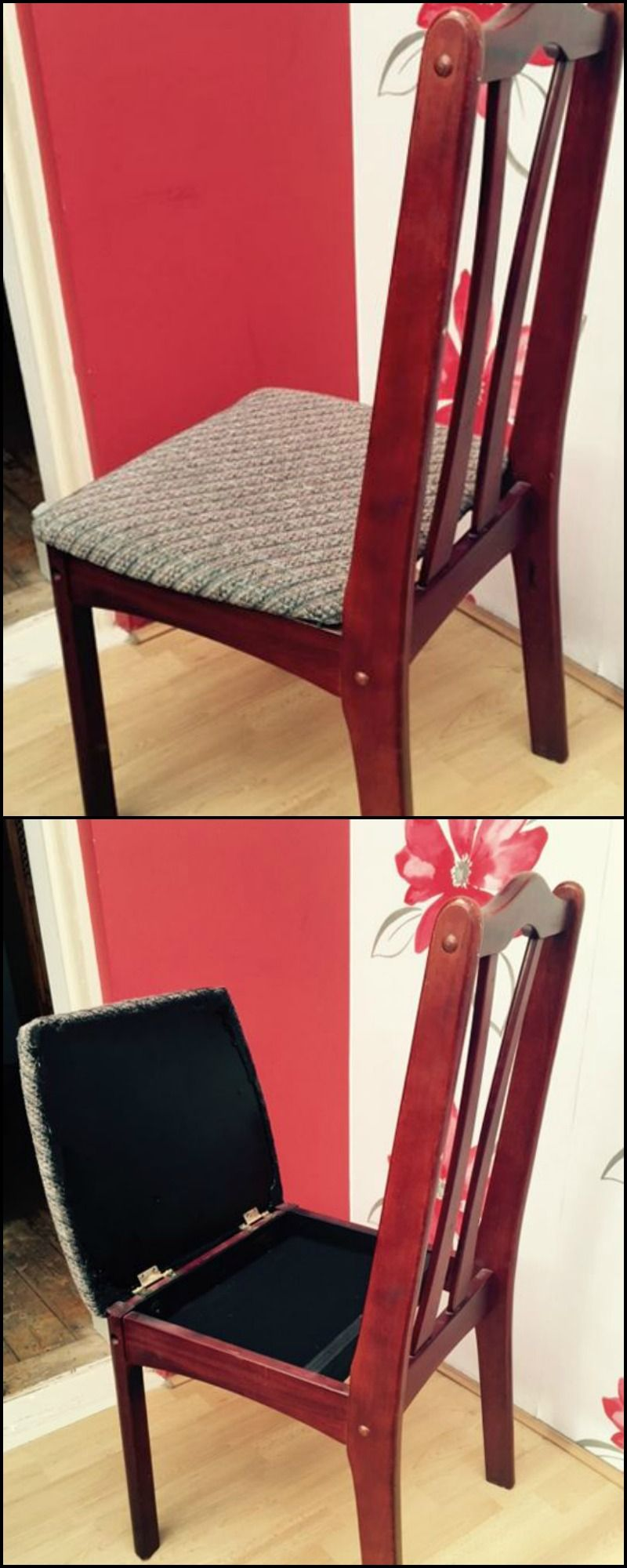 High Quality Make This Easy Hidden Compartment In Any Chair!