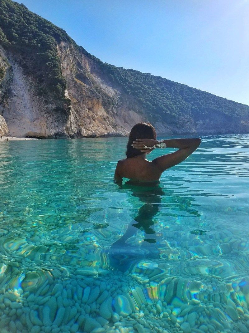 Kefalonia Greece The Most Beautiful Beaches In Greece Foreign Fresh Fierce Style With Images Most Beautiful Beaches Beautiful Beach Pictures Beautiful Beaches