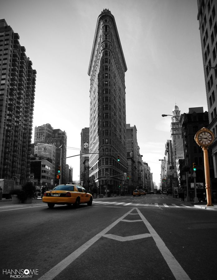 Flatiron Building NYC by Hannes Welker, via 500px Civil - building engineer job description