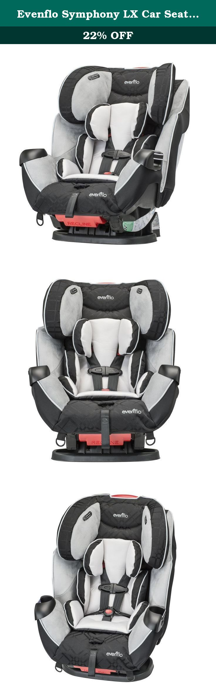 Evenflo Symphony LX Car Seat Crete The All In One