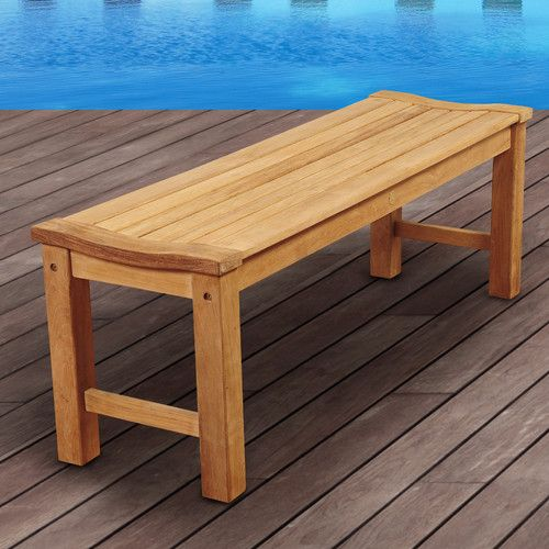 Found It At AllModern Amazonia Chester Teak Picnic Bench Roof - Teak picnic table and benches