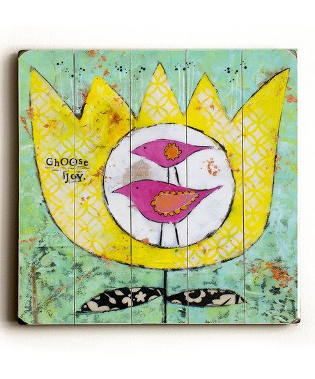 'Choose Joy' Wall Plaque
