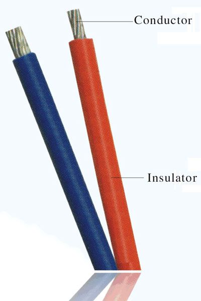 Copper Electrical Conductor : I think this photo it best represents what an insulator