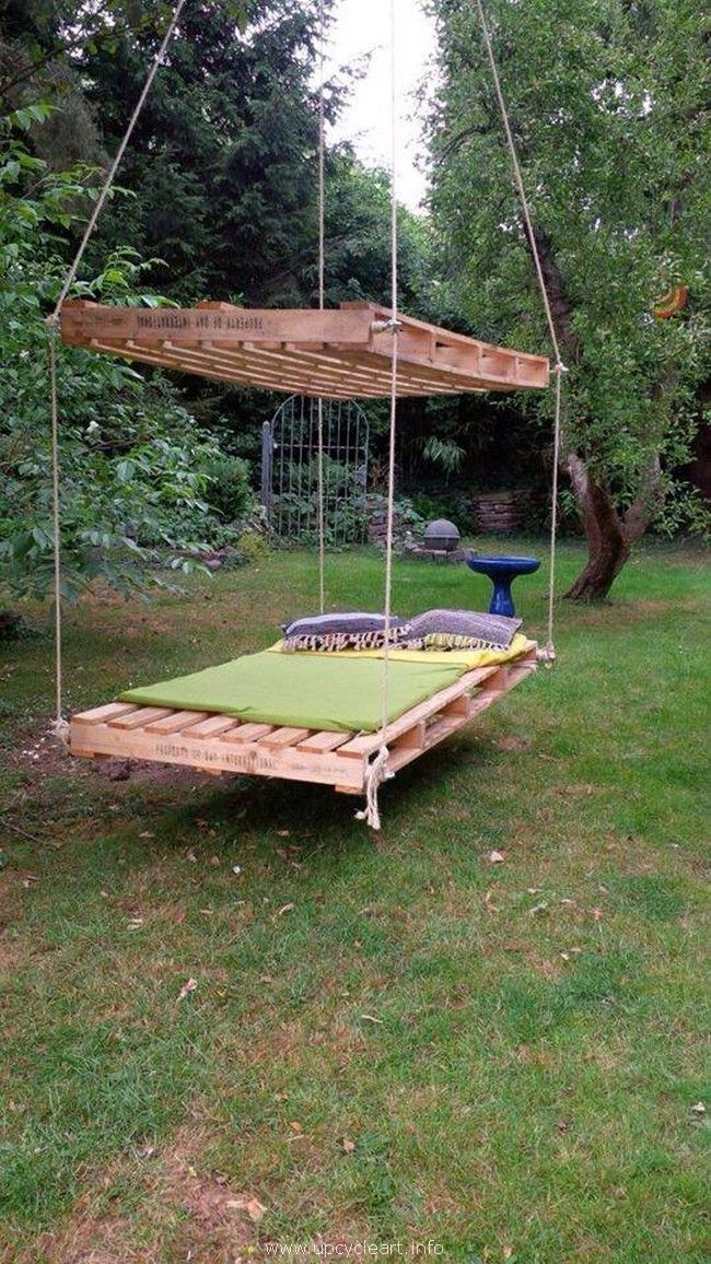 50 Ways To Recycle Wood Pallets Swing Design Diy Pallet
