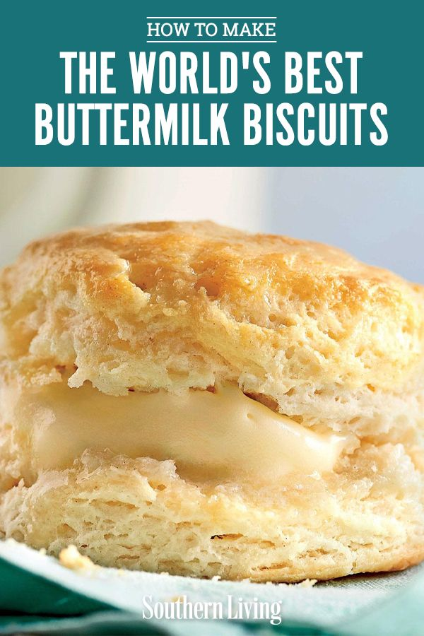 This no-fail biscuit recipe will make you look like a pro, even if this is your first attempt at biscuit-making. #buttermilkbiscuits #biscuitrecipe #breadrecipe #southernliving