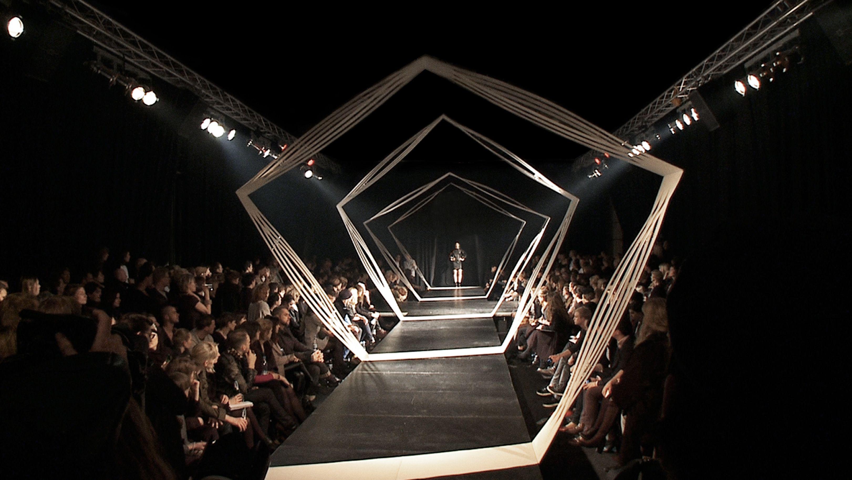 Fashion Show Runway Setup