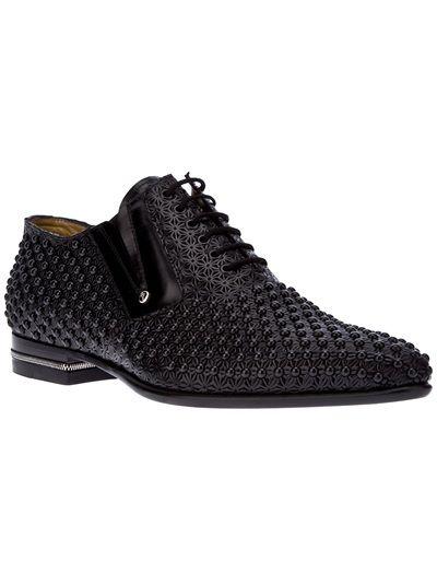 Cesare Paciotti Studded Lace Up Shoe