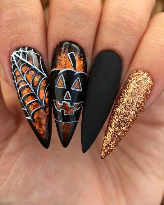 50+ Devilishly Cute Halloween Nails That You Need