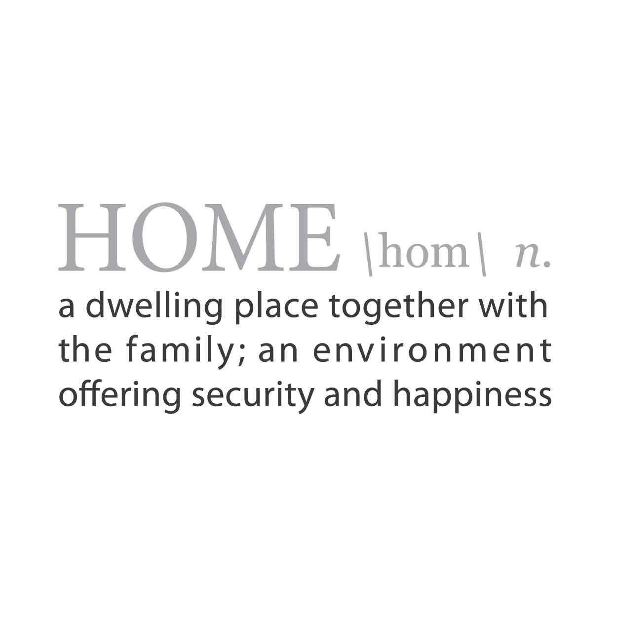 HOME: A Definition for SAFE HAVEN   Definitions, Quote wall decals ...