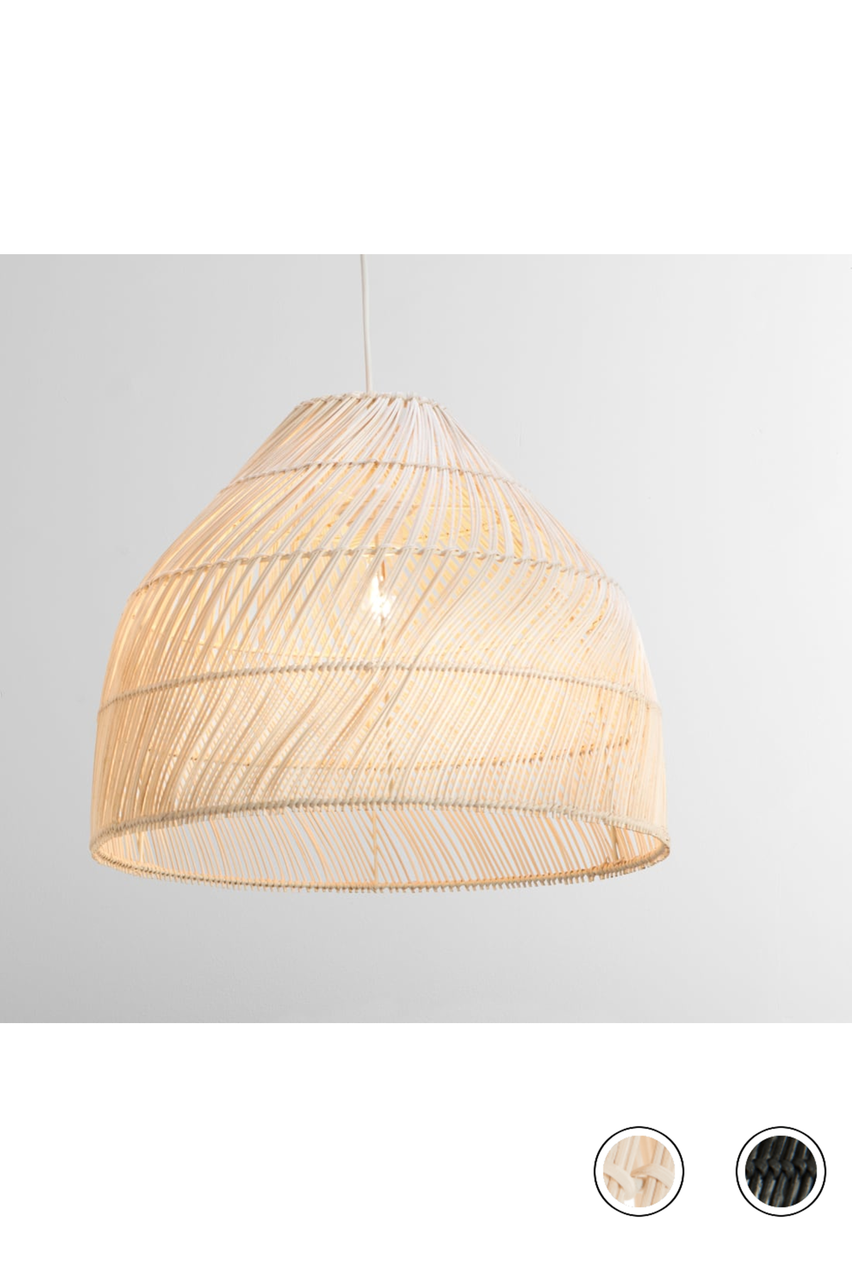 Made Shade Small Natural Rattan Neutral Express Delivery Java Lamp Shades Collection From Made Com Ceiling Lamp Shades Rattan Lamp Plug In Pendant Light