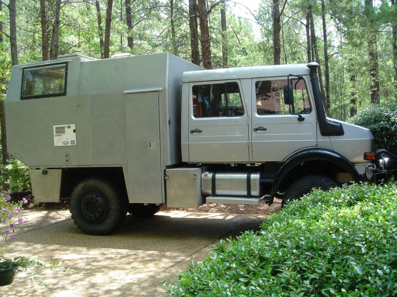 Overland Unimog Doka 4x4 Camper Unimog Overland Truck