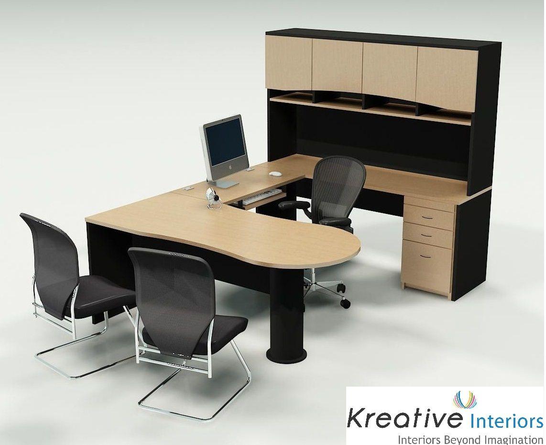 Office Interior Designers In Hyderabad Commercial Interior Designers In Hyderab Office Desk Designs Modern Home Office Furniture Modern Office Furniture Desk