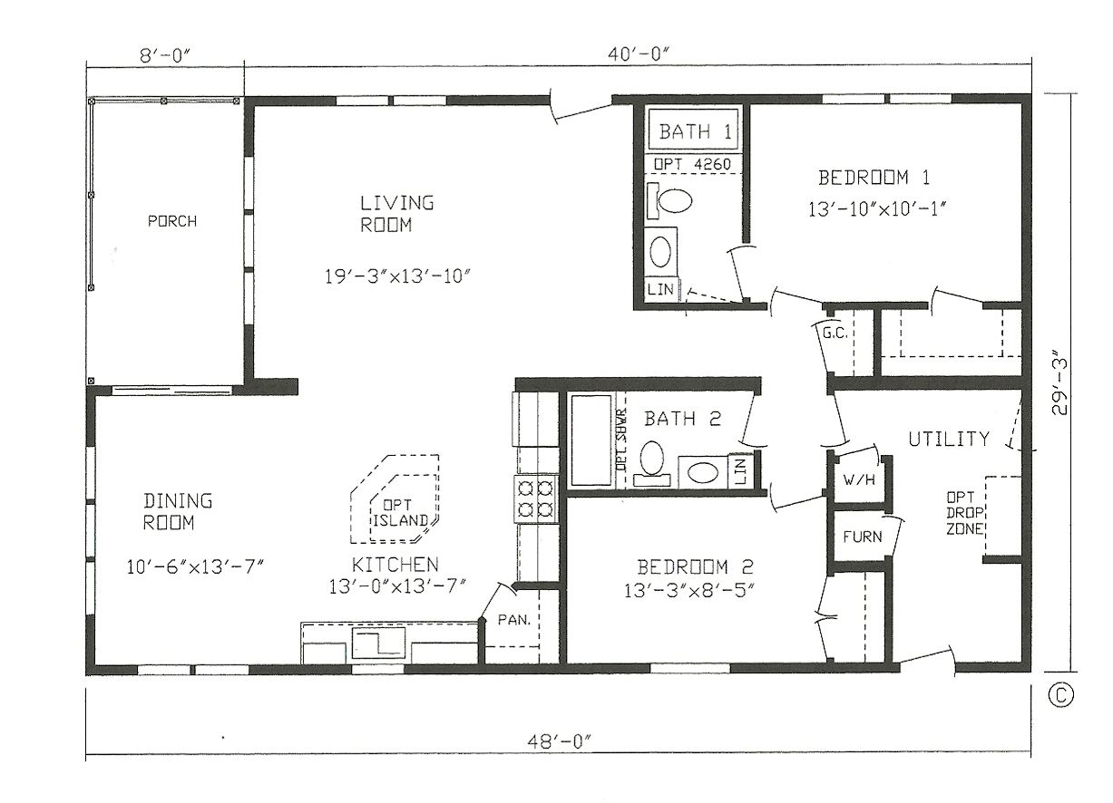 The Pike Bay Modular St Cloud Mankato Litchfield Mn Lifestyle Homes Mobile Home Floor Plans Barndominium Floor Plans Modular Home Plans