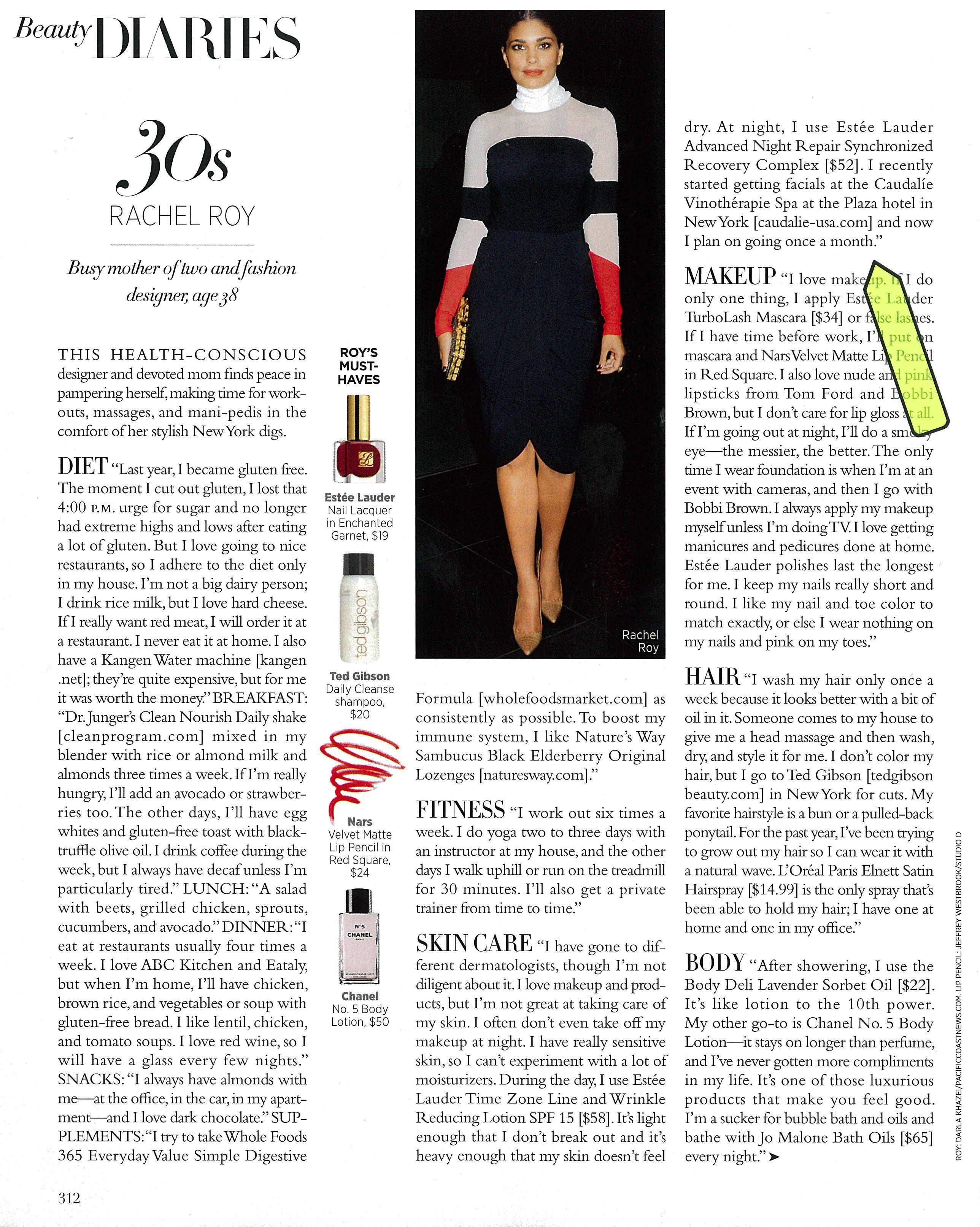 Harper's Bazaar Beauty Diaries