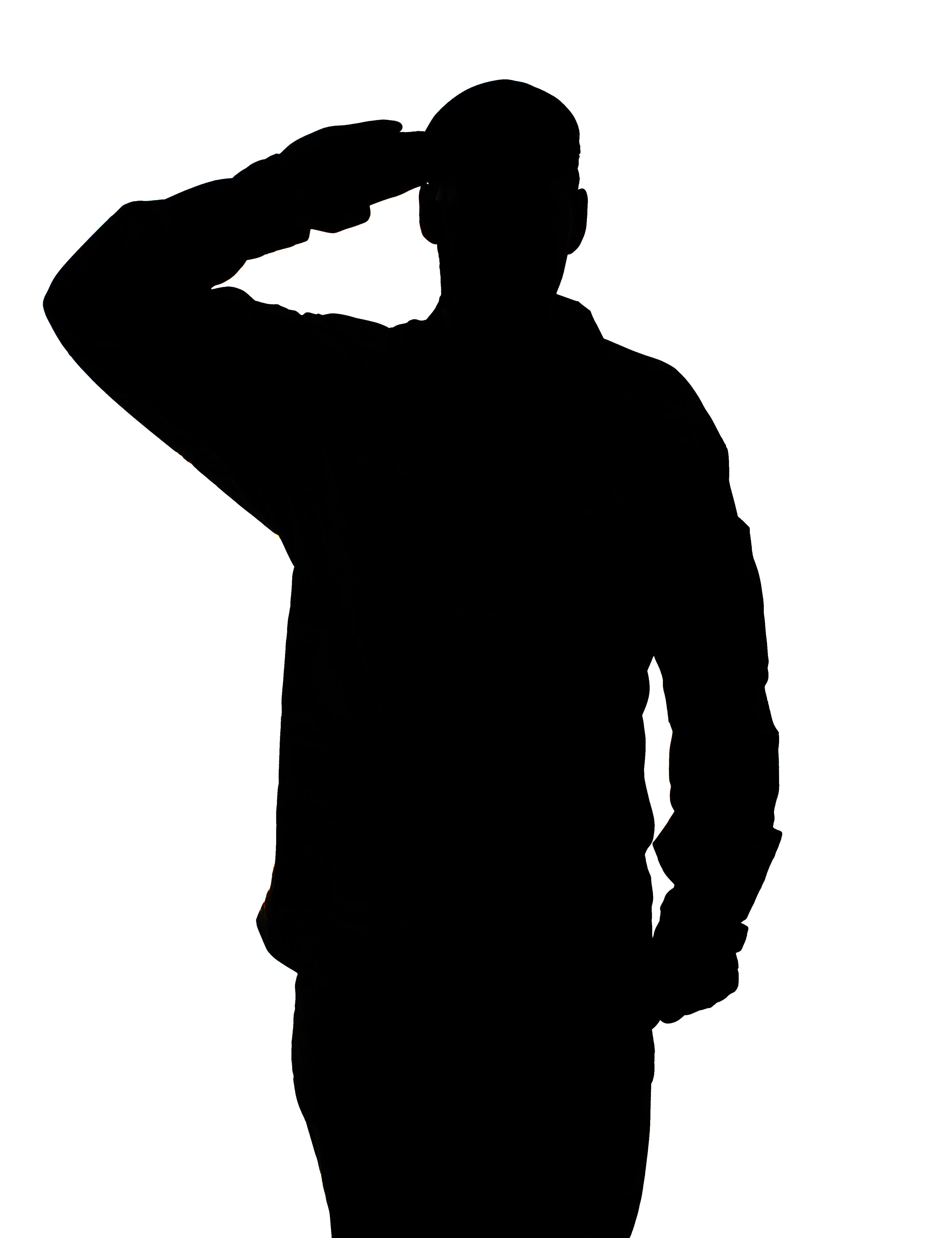 This Picture Shows Patriotism Because It Has A Soldier Saluting On It And The Salute Is A Well Know Symbol For Patri Soldier Silhouette Army Images Silhouette
