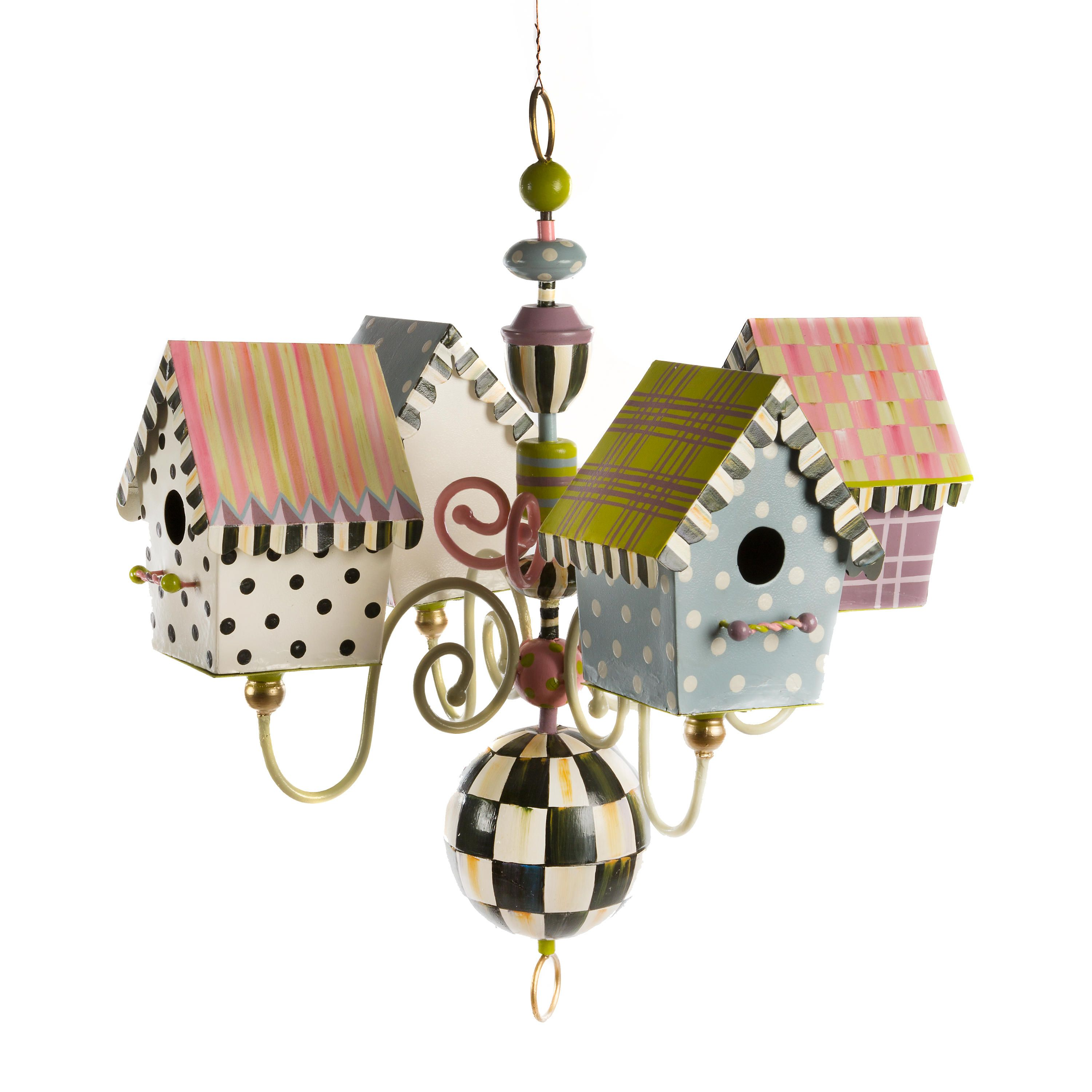 Mackenzie childs birdhouse chandelier mackenzie childs birdhouse chandelier mackenzie childs arubaitofo Image collections