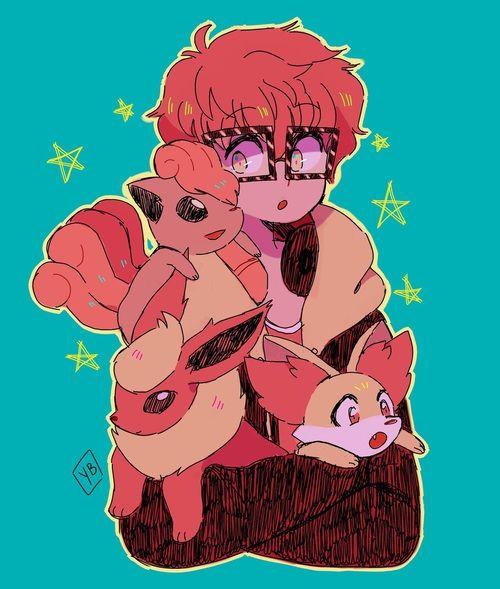 pokemon, crossover, and mystic messenger 이미지
