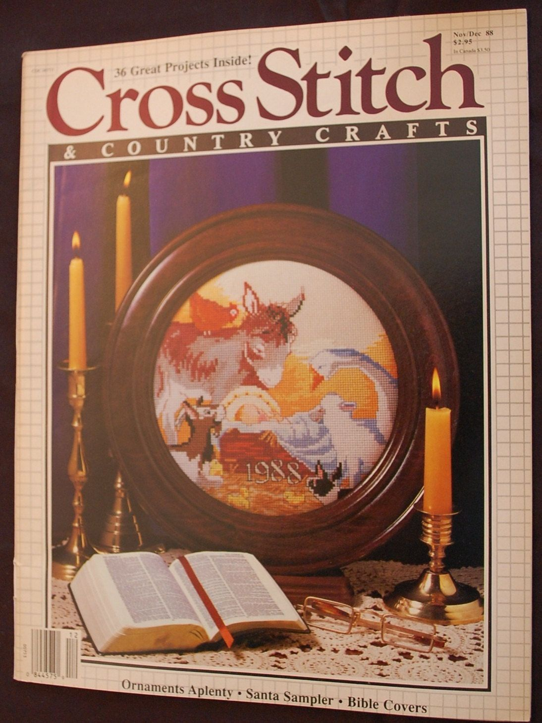 Cross stitch and country crafts magazine back issues - Cross Stitch Country Crafts Magazine By Sewwhateverandgifts