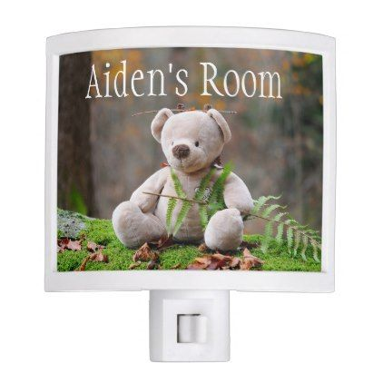 Teddy bear babys room night light personalized baby shower teddy bear babys room night light personalized baby shower ideas party babies newborn gifts baby shower ideas pinterest teddy bear bears and room negle Gallery