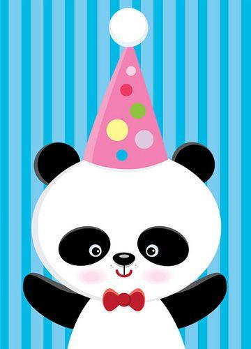 Panda birthday card panda birthday happy birthday and panda i love you quotes happy birthday panda bookmarktalkfo Image collections