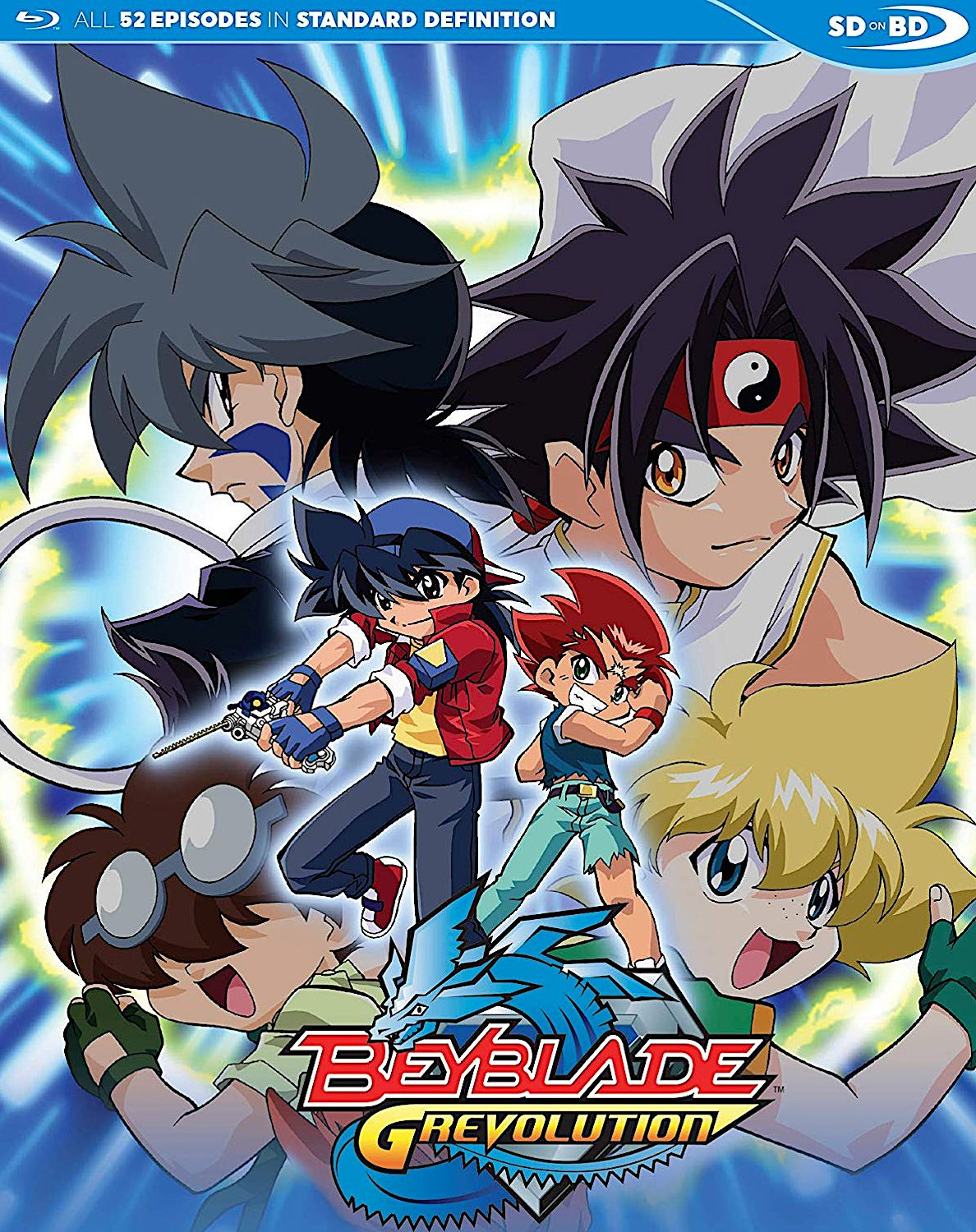 BEYBLADE GREVOLUTION THE COMPLETE SERIES BLURAY SET