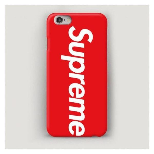 Red Supreme Iphone 6 Case 7 6s Plus Liked On Polyvore Featuring Accessories And Tech