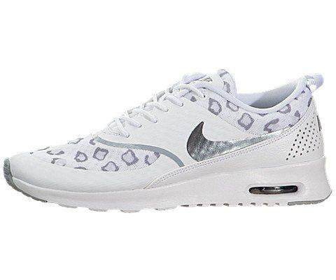 sports shoes 1dabf ec89d Nike Wmns Air Max Thea Print - Sneaker per damen, whitewolf grey-pure  platinum, größe 39