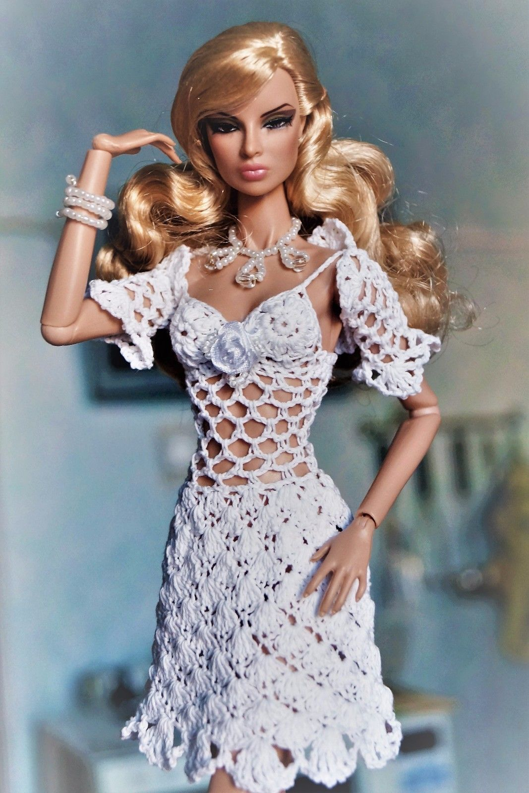 Outfit dress and bolero clothes for fashion royalty poppy parker outfit dress and bolero clothes for fashion royalty poppy parker barbie fr2 bankloansurffo Choice Image