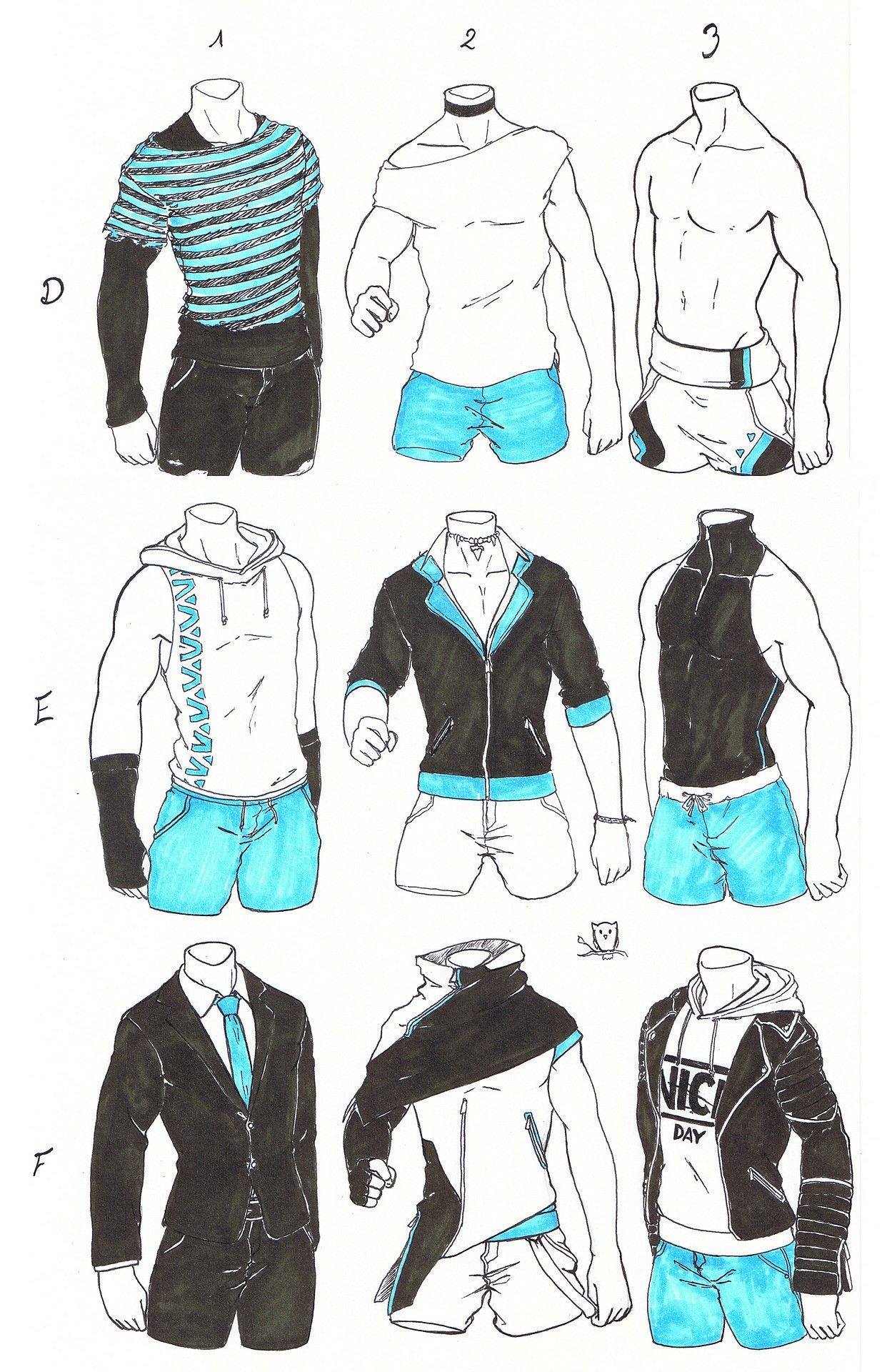 Outfits Boy Art Drawing Clothes Art Sketches Character Design