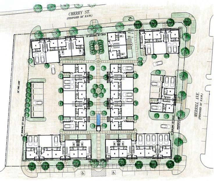 townhouse development plans