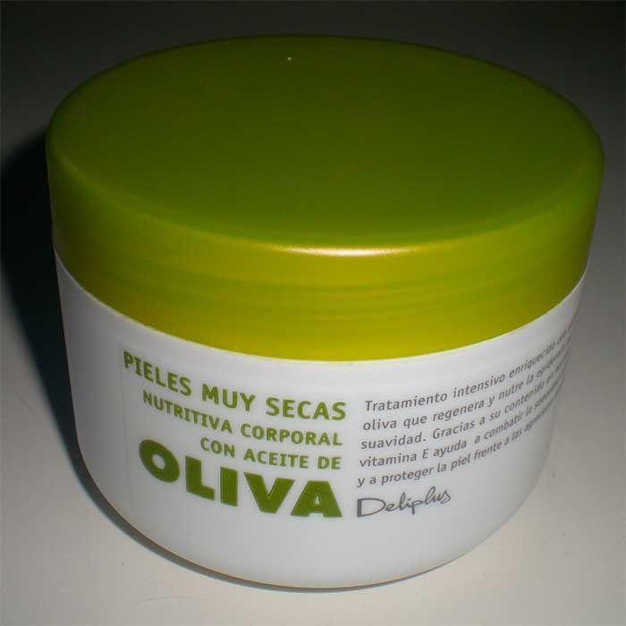 Crema Con Aceite De Oliva Deliplus Maquillaje Para Piel Grasa