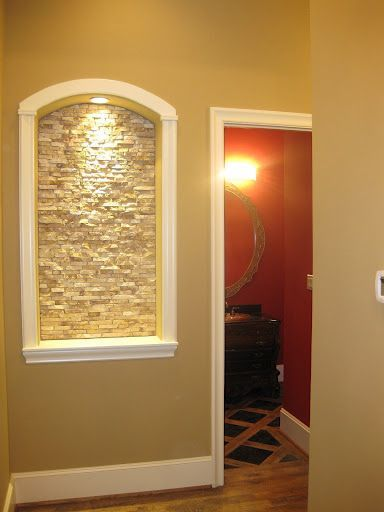 New House: Foyer on Pinterest | Art Niche, Wall Niches and Niche ...