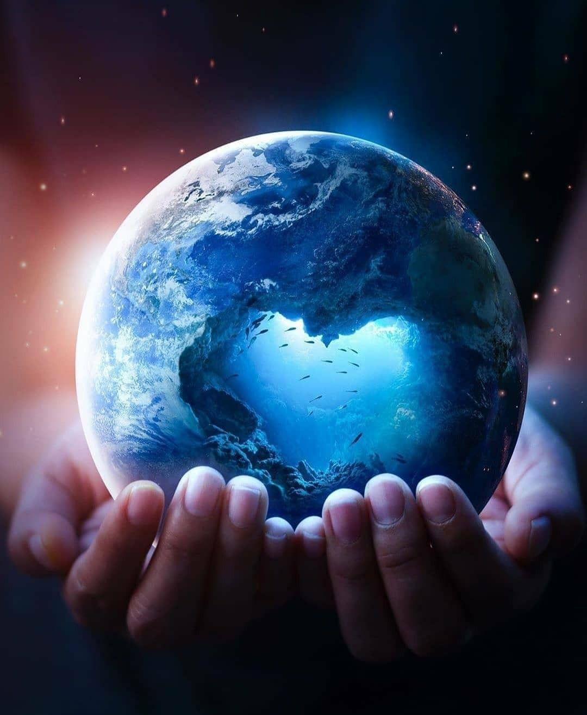 Wallpaper In 2020 Photoshop Art Happy Earth Earth